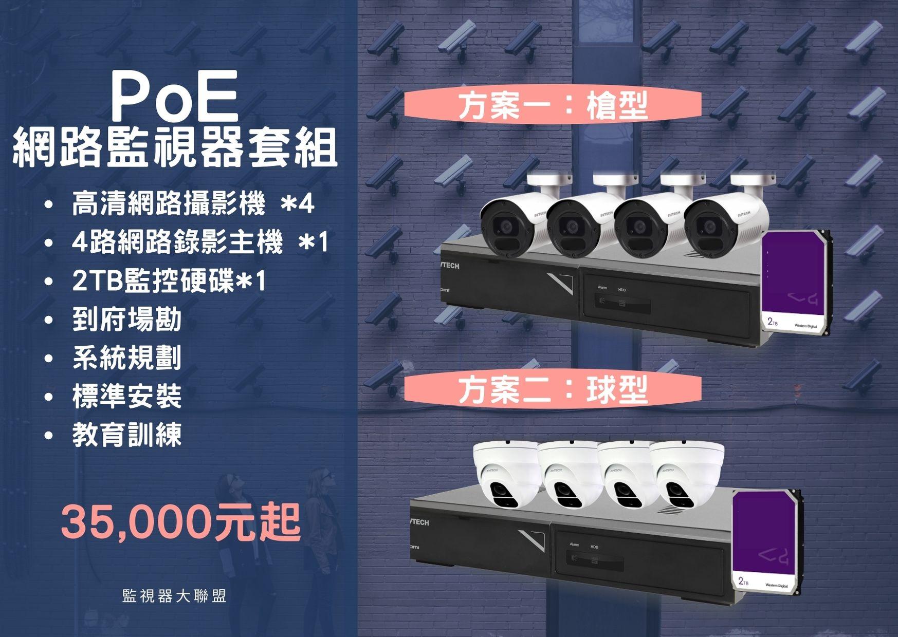 PoE網路監控套組